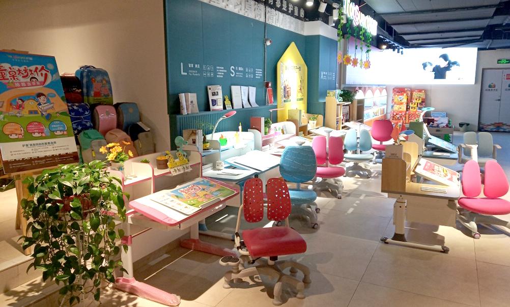 热烈祝贺护童第1745家汉中汉唐书城护童专柜盛大开业!