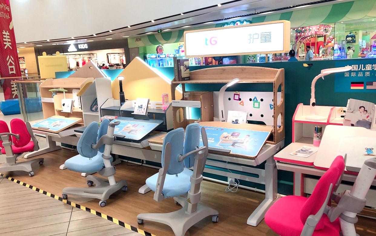 热烈祝贺护童第2011家上海奉贤宝龙护童专柜盛大开业!