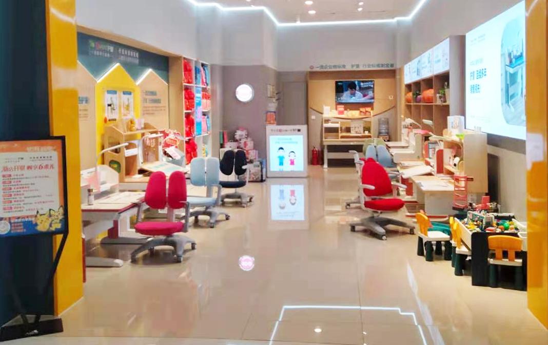 热烈祝贺护童第2123家济南龙湖天街护童专柜盛大开业!