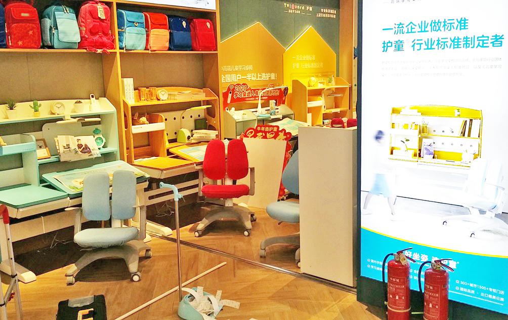 热烈祝贺护童第2158家驻马店玖隆茂护童专柜盛大开业!