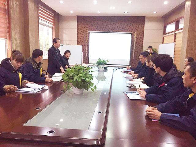 热烈欢迎日本丰田公司两位老师莅临安吉护童指导工作!
