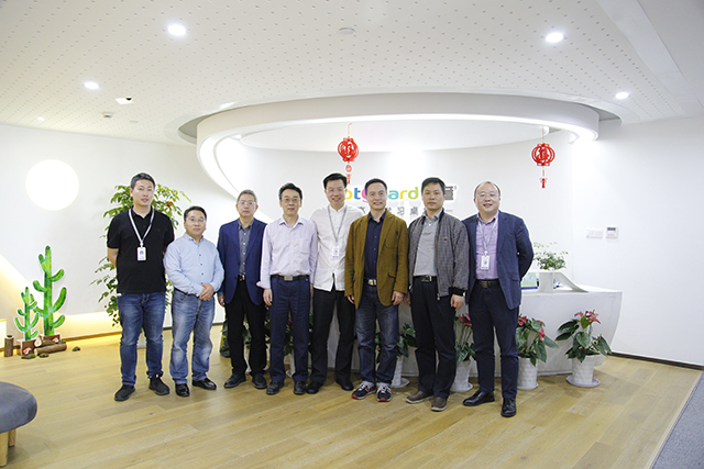 热烈欢迎李毕忠先生、王旭先生、张迎增先生、谢小保先生、郑苏江先生莅临护童科技指导工作!