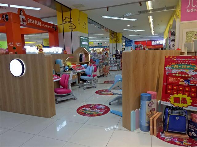 热烈祝贺护童第1376家杭州城西银泰护童专柜盛大开业!