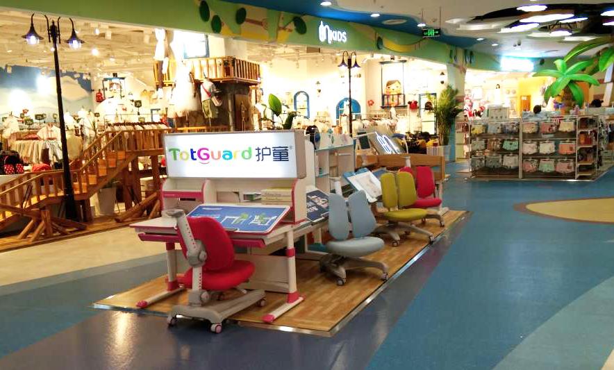 热烈祝贺护童第1657家桂林高新万达护童专柜盛大开业!